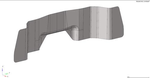 Geometria della parete parafiamma